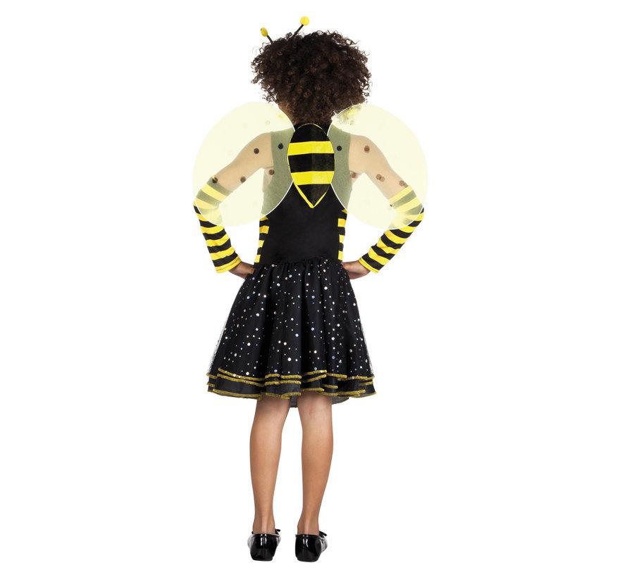 Bijenpakje carnaval   Kinderkostuum Bee-bee