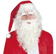 Kerstman Baard set 3 delig lang