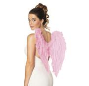 Engel vleugels zacht roze