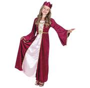 Kinderkostuum Renaissance queen | Koningin Mary luxe