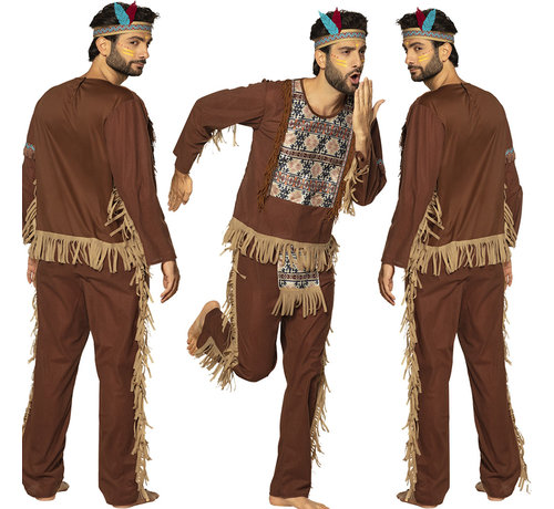 Indianenpak heren  met  tooi