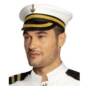 Marine kapitein pet