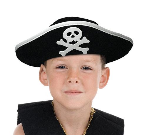 Hoed Piraat Kapitein Kind