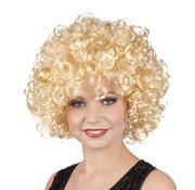 Pruik Blond Krullen Candice
