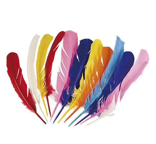 Gekleurde veren kopen