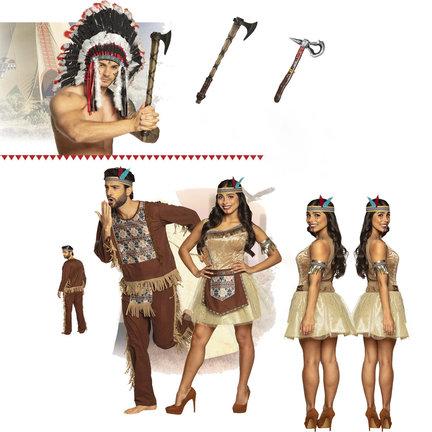 Indianen kleding / indiaan accessoires