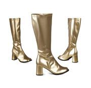 Retro laarzen goud