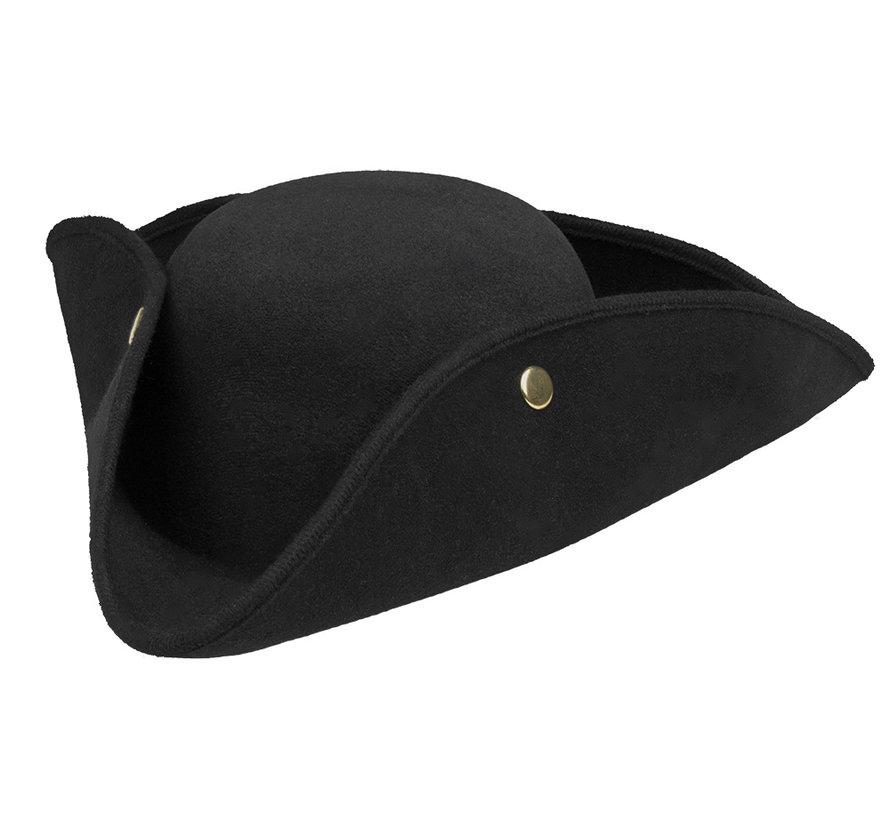 Admiraal hoed zwart kopen