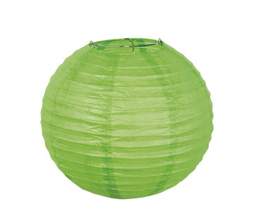 Groene Papieren lampion
