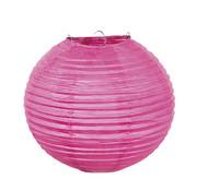Roze Papieren lampion