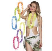 Tweekleurige hawaii kransen