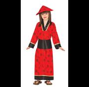 Japanse geisha meisjeskleding