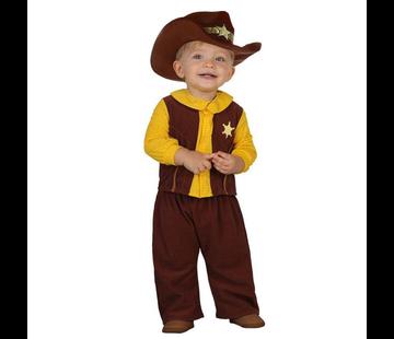 Cowboy kleding baby