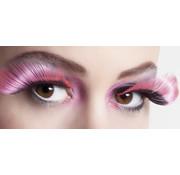 Wimpers zwart pink
