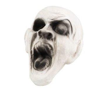 Decoratie zombie hoofd