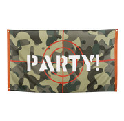 Vlag 'Party!' Camouflage