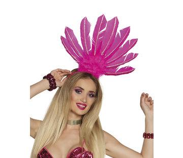 Braziliaanse pink tiara