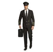 Piloten kostuum heren