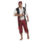 Herenkostuum Piraat Jack