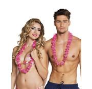 Goedkope hawaii kransen roze