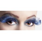 Wimpers tweekleurig zwart blauw