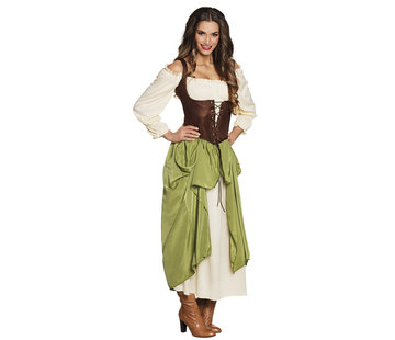 Boerinnen kostuum
