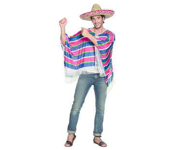 Goedkope Mexicaanse Poncho