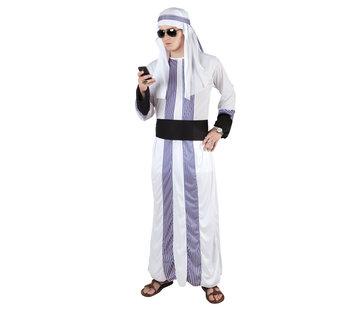 Kostuum Oliesjeik