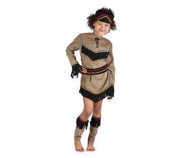 Kostuum Indiaan Squa