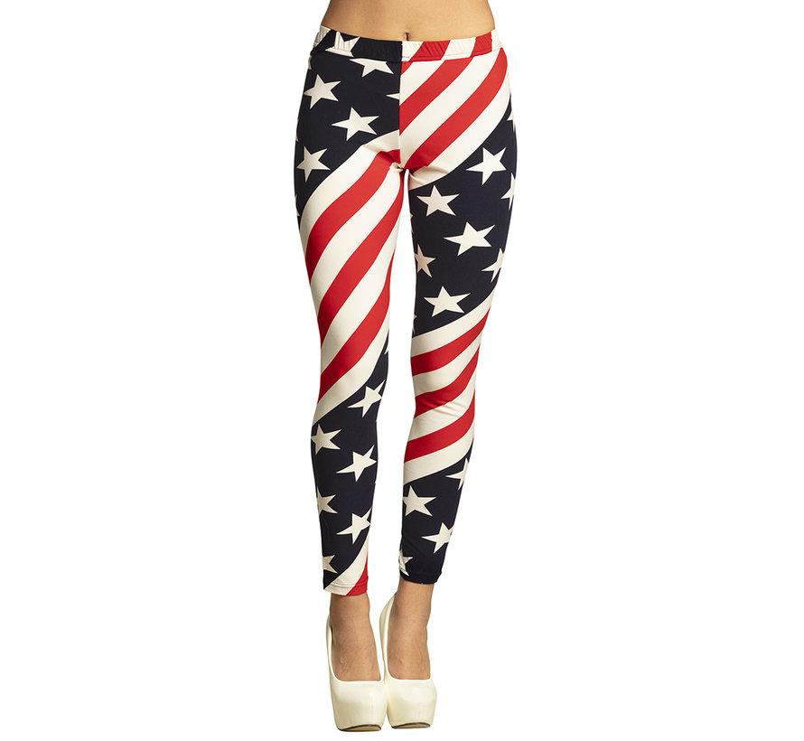 Amerikaanse legging Stars and Stripes