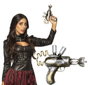 Pistool Steampunk space gun