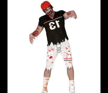 Zombie Football Player kostuum