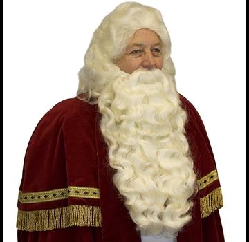 Baardstel Sinterklaas met vaste snor