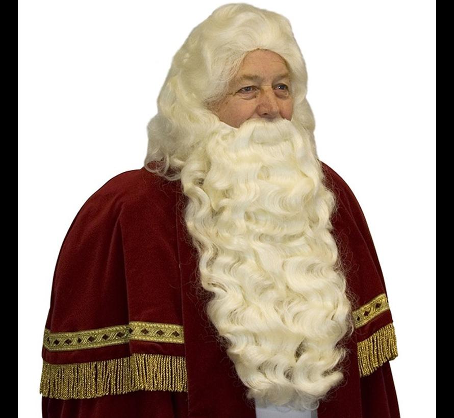 Baardstel Sinterklaas met vaste snor online kopen