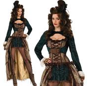 Sexy steampunk madame