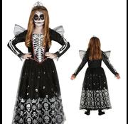 skelet prinsessenjurk kind