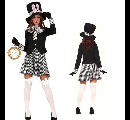 Gekke hoedenmaker kostuum dames