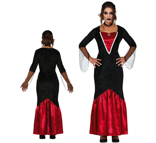 Halloween vampier jurk dames