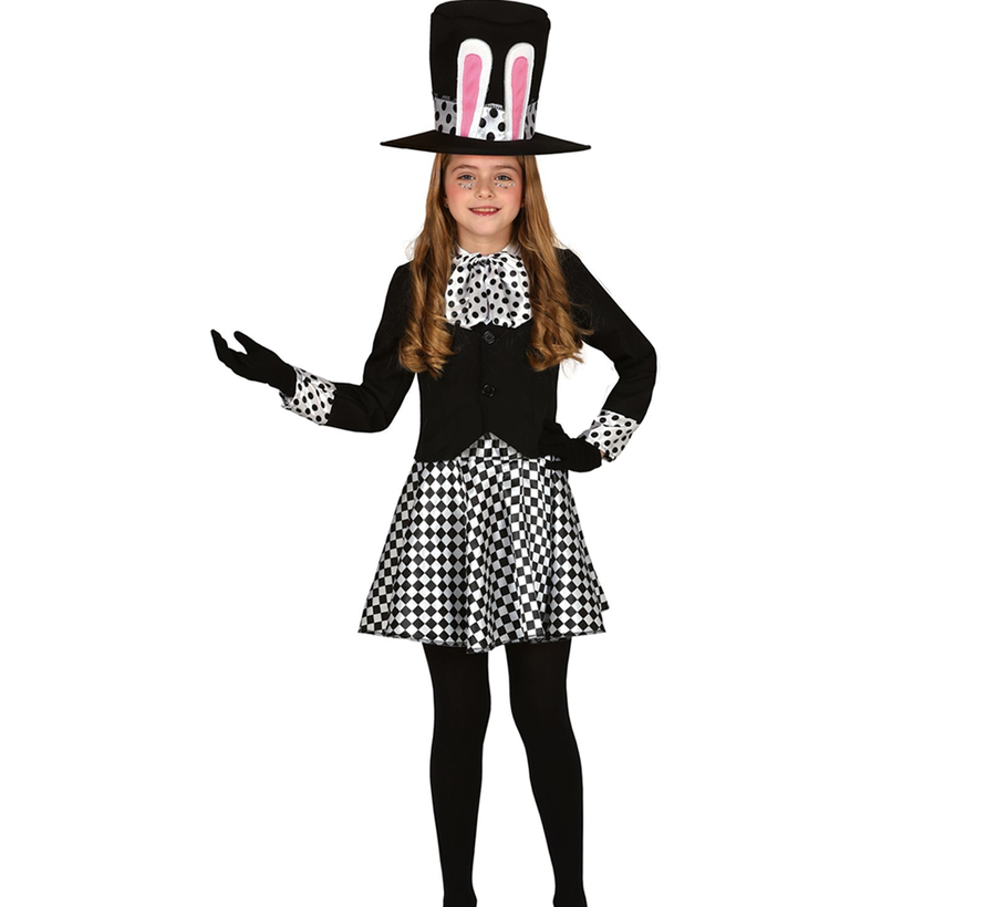 Alice in wonderland jurkje kind