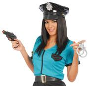 Speelgoedpistool met handboeien