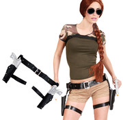 Lara Croft Beenholsters