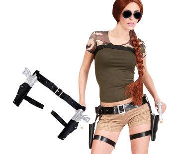 Lara Croft Beenholsters