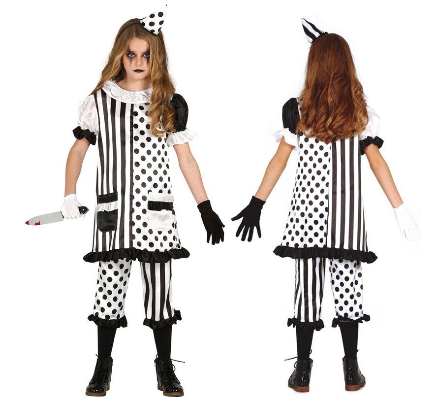 Halloween clown jurkje kind