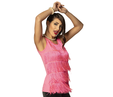 Flapper crop top