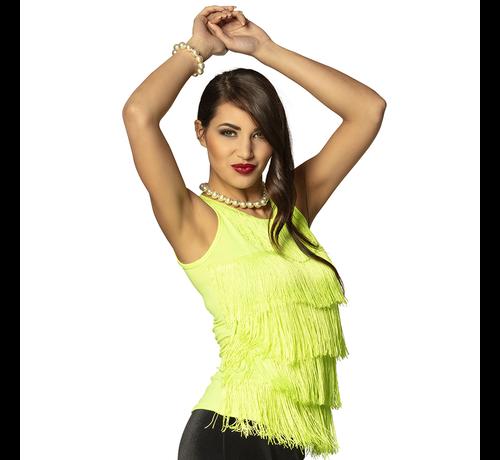 Great  gatsby shirt neon groen