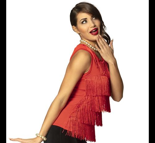 kleding jaren 20 rood shirt