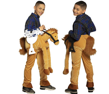 Instap paarden kostuum