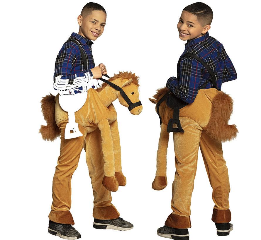 Instap paarden kostuum voor kinderen
