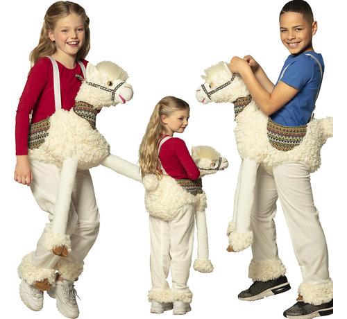 Instap kostuum lama voor kinderen