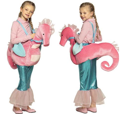 Instap kostuum zeepaardje voor kinderen